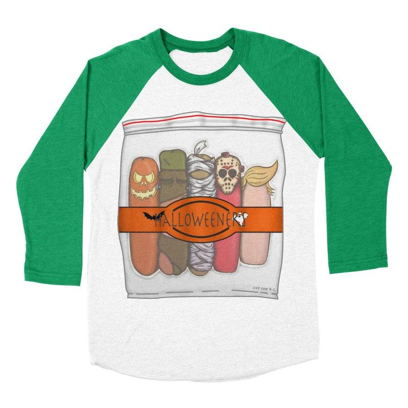 Halloweeners Men's Baseball Triblend T-Shirt by The Last Tsunami's Artist Shop