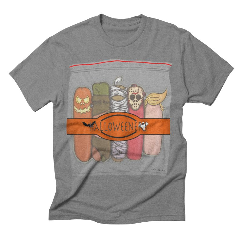 Halloweeners Men's Triblend T-shirt by The Last Tsunami's Artist Shop