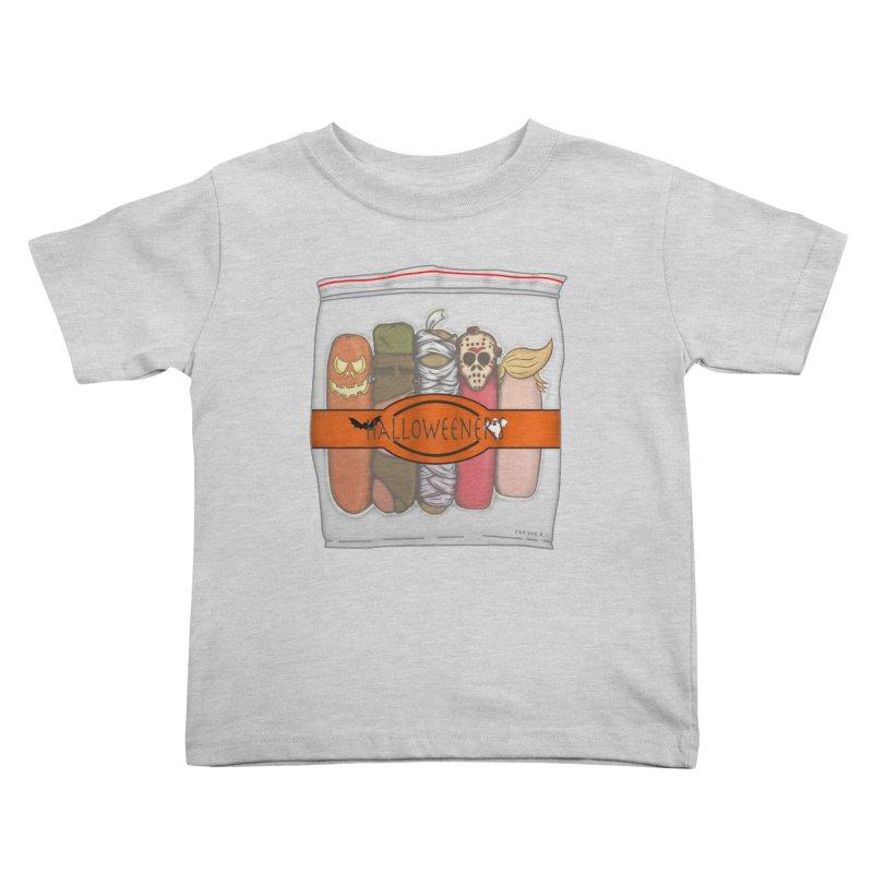 Halloweeners Kids Toddler T-Shirt by The Last Tsunami's Artist Shop
