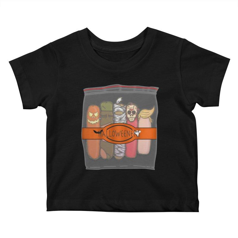 Halloweeners Kids Baby T-Shirt by The Last Tsunami's Artist Shop