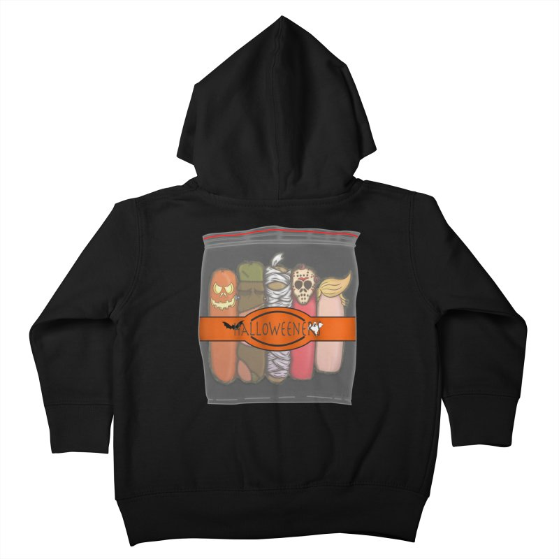 Halloweeners Kids Toddler Zip-Up Hoody by The Last Tsunami's Artist Shop