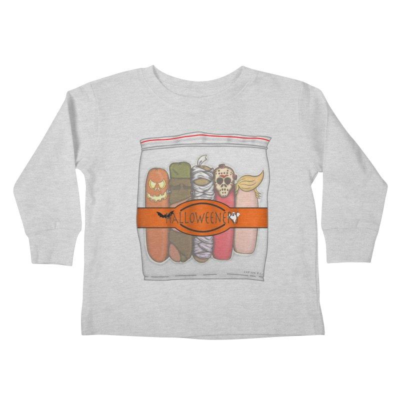 Halloweeners Kids Toddler Longsleeve T-Shirt by The Last Tsunami's Artist Shop
