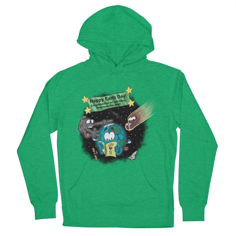 Earth Day Men's Pullover Hoody by The Last Tsunami's Artist Shop