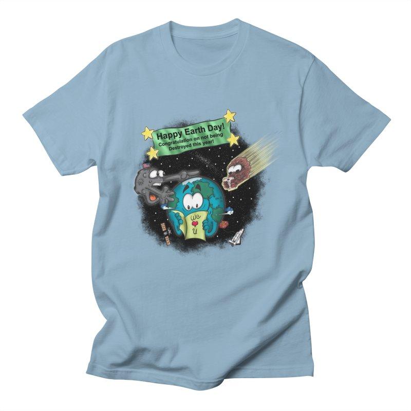 Earth Day Men's T-shirt by The Last Tsunami's Artist Shop