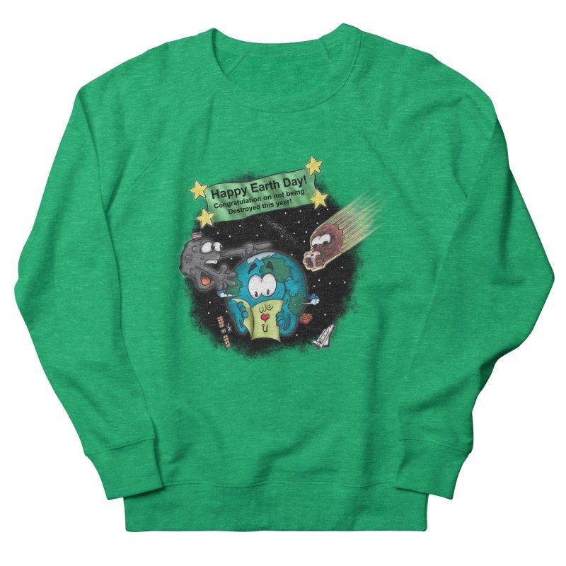 Earth Day Women's Sweatshirt by The Last Tsunami's Artist Shop