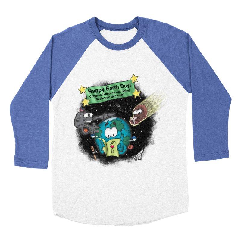 Earth Day Women's Baseball Triblend T-Shirt by The Last Tsunami's Artist Shop