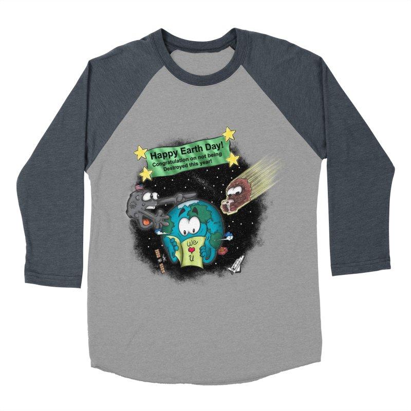 Earth Day Men's Baseball Triblend T-Shirt by The Last Tsunami's Artist Shop