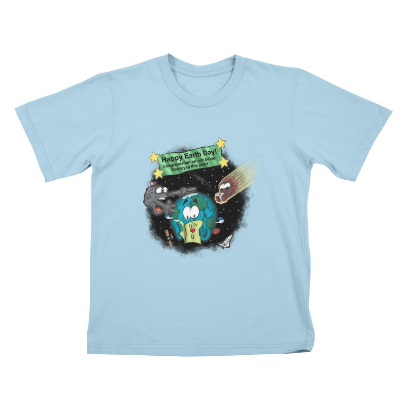 Earth Day Kids T-shirt by The Last Tsunami's Artist Shop