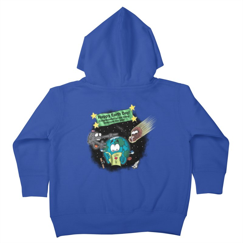 Earth Day Kids Toddler Zip-Up Hoody by The Last Tsunami's Artist Shop