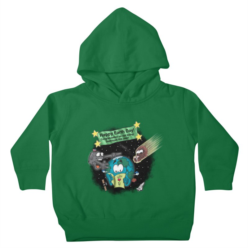 Earth Day Kids Toddler Pullover Hoody by The Last Tsunami's Artist Shop