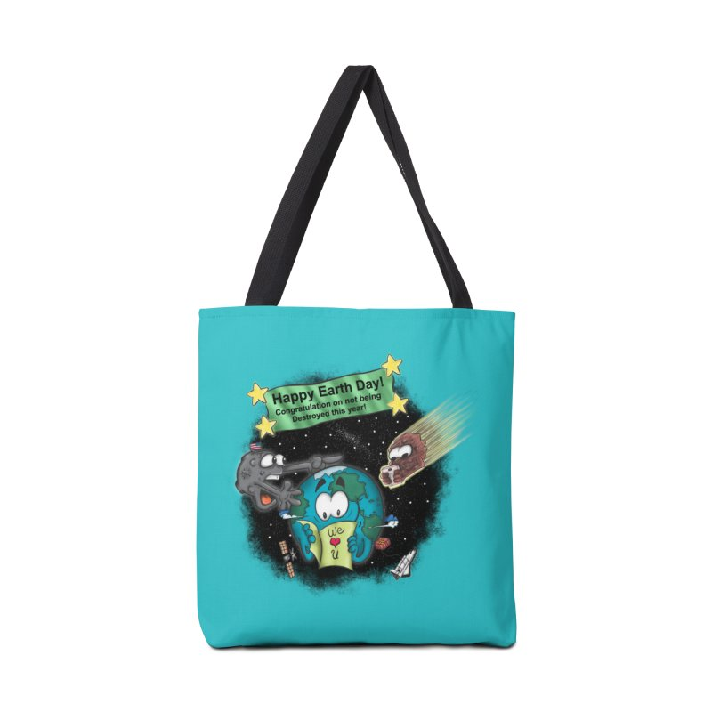 Earth Day Accessories Bag by The Last Tsunami's Artist Shop