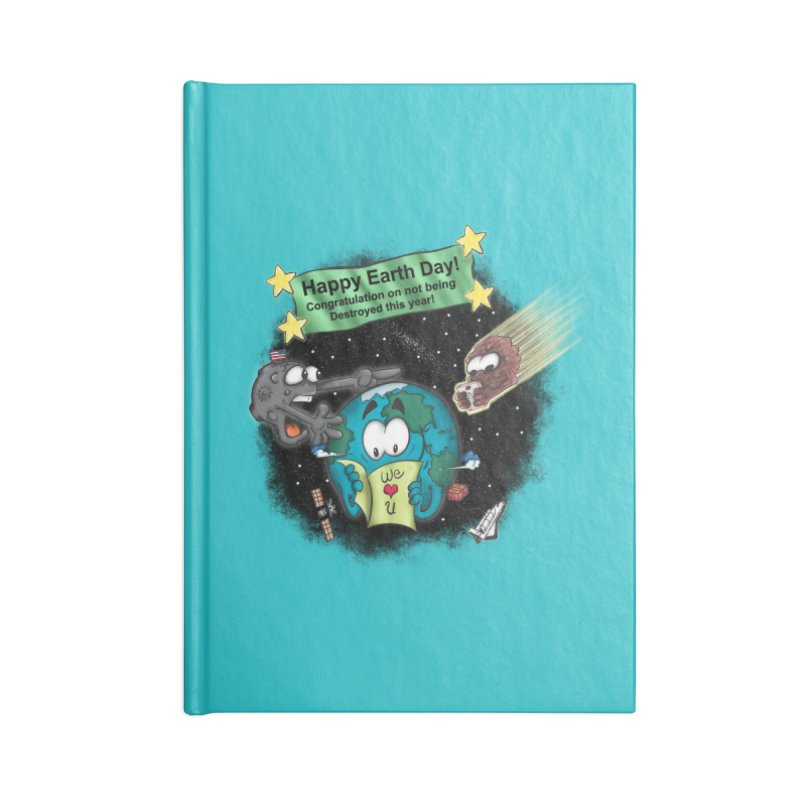 Earth Day Accessories Notebook by The Last Tsunami's Artist Shop