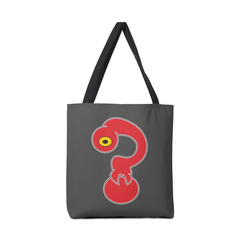 Ask Me! Accessories Bag by The Last Tsunami's Artist Shop