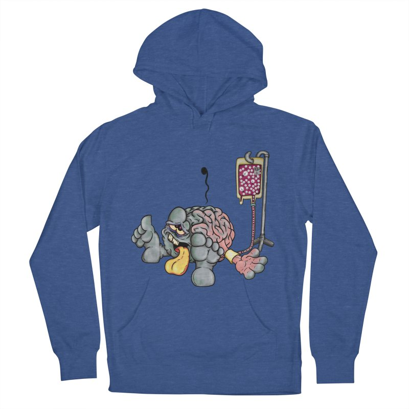 Creativity Block Emergency Men's Pullover Hoody by The Last Tsunami's Artist Shop