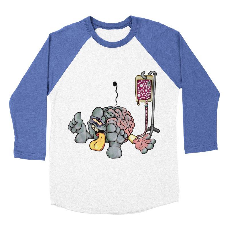 Creativity Block Emergency Women's Baseball Triblend T-Shirt by The Last Tsunami's Artist Shop