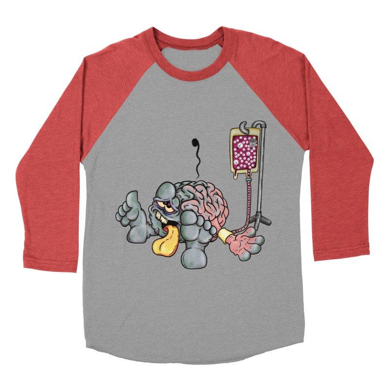 Creativity Block Emergency Men's Baseball Triblend T-Shirt by The Last Tsunami's Artist Shop