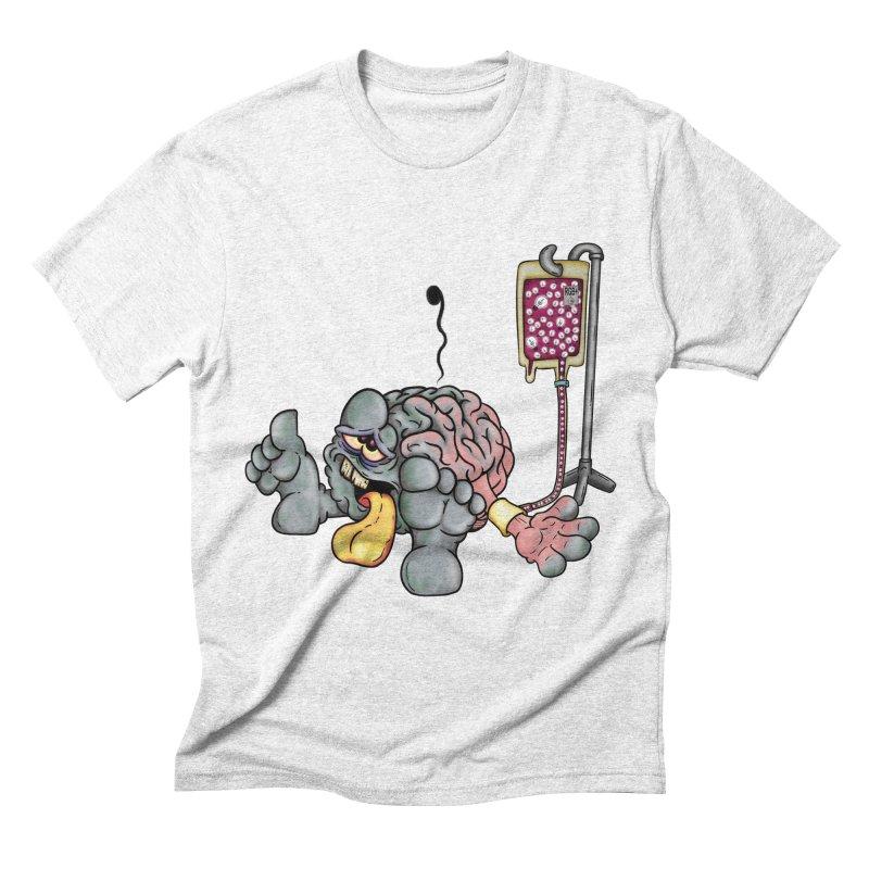Creativity Block Emergency Men's Triblend T-shirt by The Last Tsunami's Artist Shop