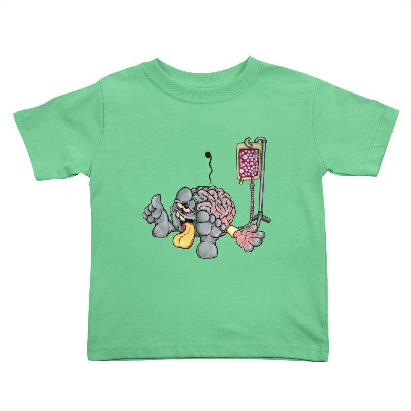 Creativity Block Emergency Kids Toddler T-Shirt by The Last Tsunami's Artist Shop