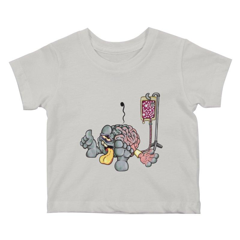 Creativity Block Emergency Kids Baby T-Shirt by The Last Tsunami's Artist Shop