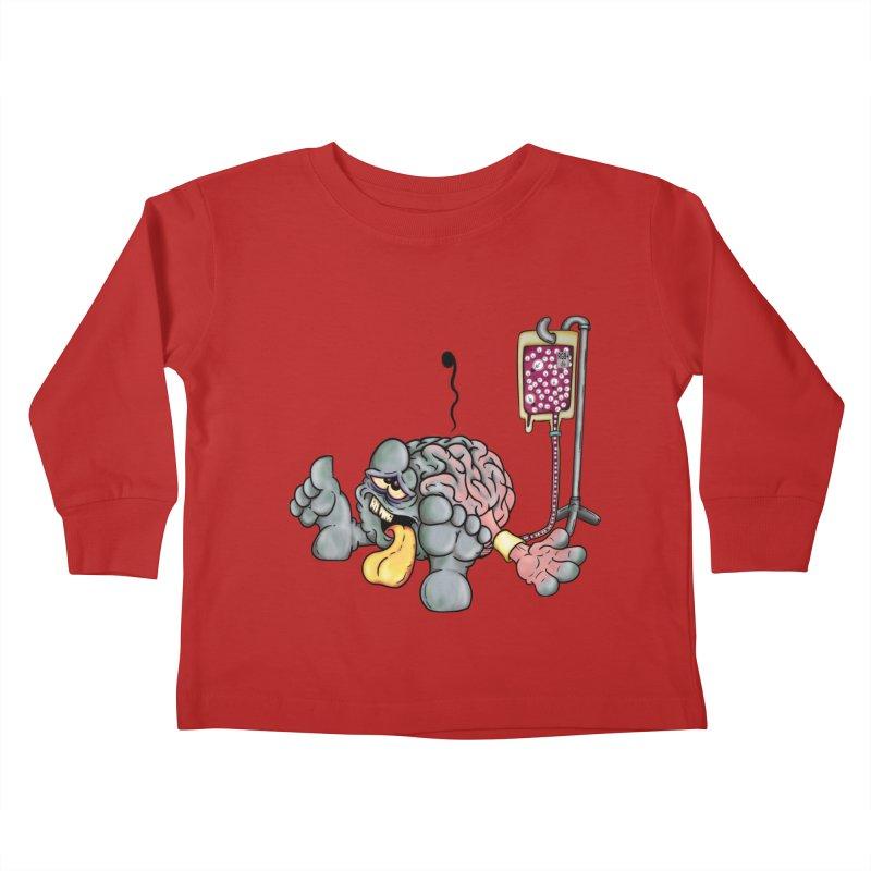 Creativity Block Emergency Kids Toddler Longsleeve T-Shirt by The Last Tsunami's Artist Shop