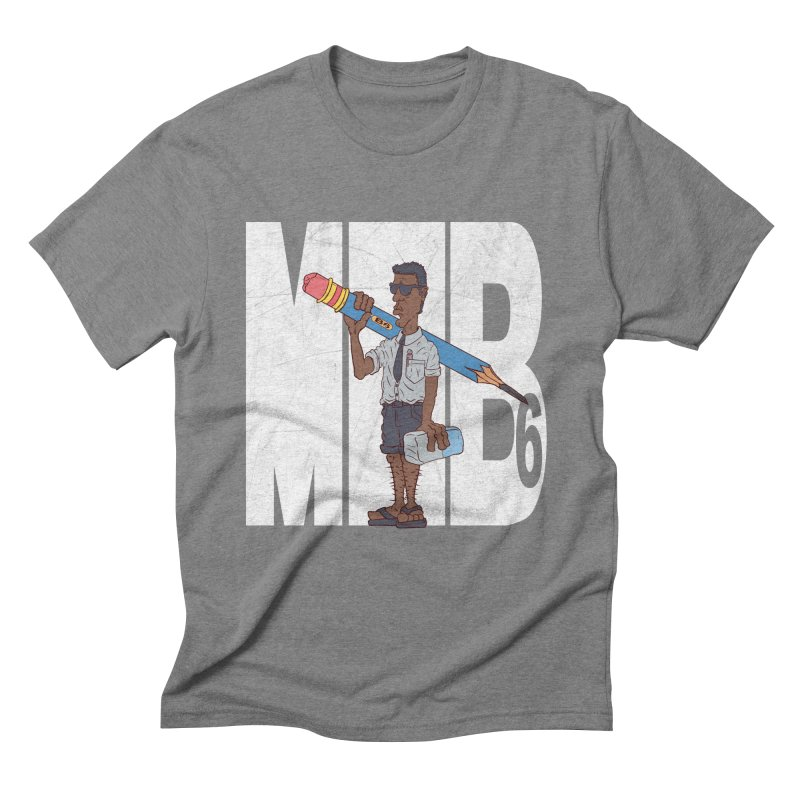 MIB6 Men's Triblend T-shirt by The Last Tsunami's Artist Shop