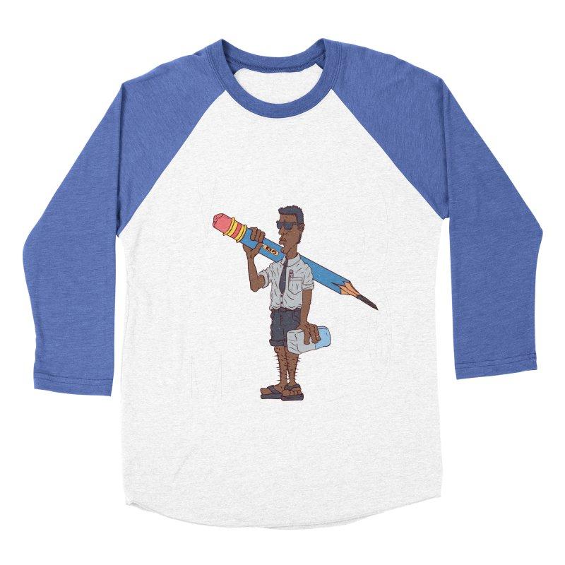 MIB6 Men's Baseball Triblend T-Shirt by The Last Tsunami's Artist Shop