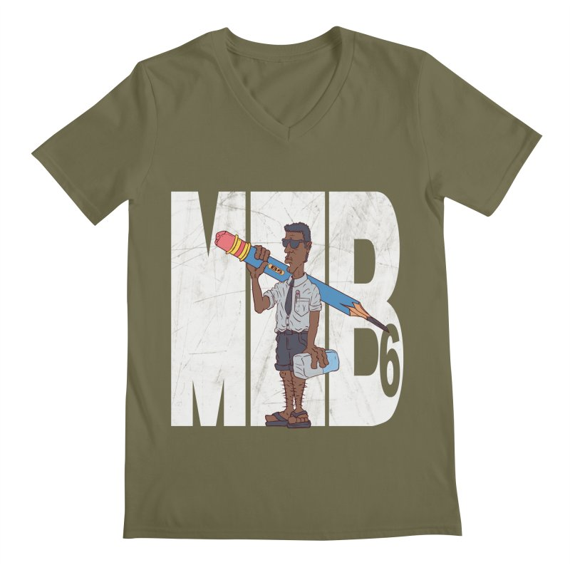 MIB6 Men's V-Neck by The Last Tsunami's Artist Shop