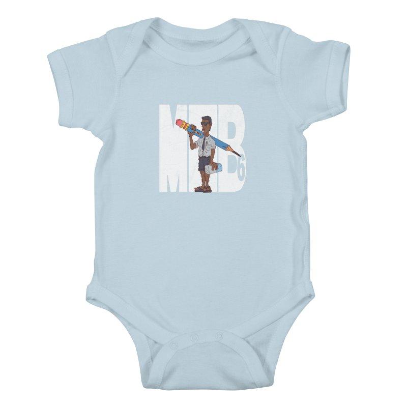 MIB6 Kids Baby Bodysuit by The Last Tsunami's Artist Shop