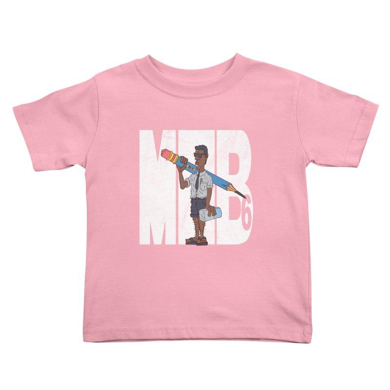 MIB6 Kids Toddler T-Shirt by The Last Tsunami's Artist Shop