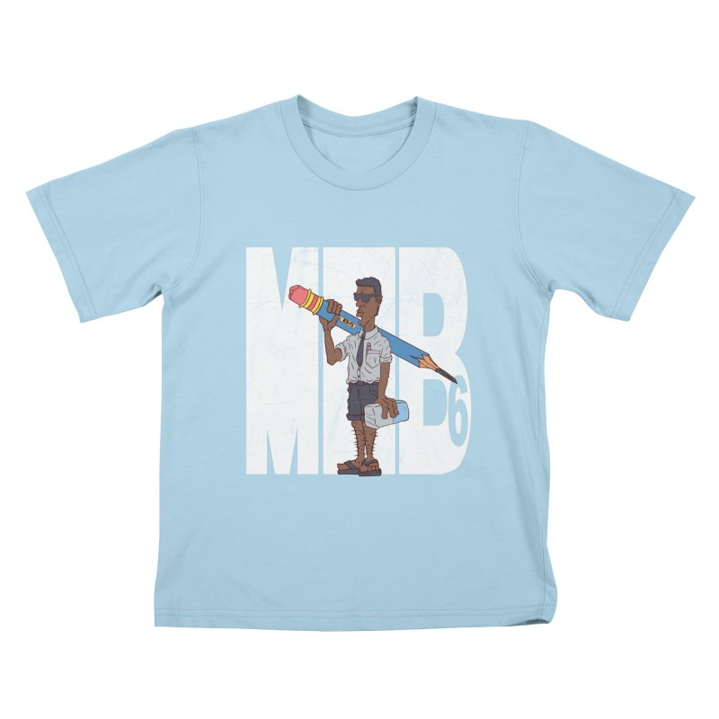 MIB6 Kids T-shirt by The Last Tsunami's Artist Shop