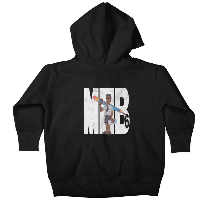 MIB6 Kids Baby Zip-Up Hoody by The Last Tsunami's Artist Shop
