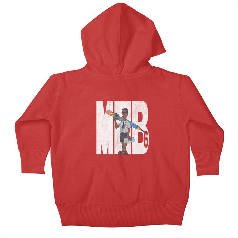 MIB6 Kids Baby Zip-Up Hoody by The Last Tsunami's Artist Shop