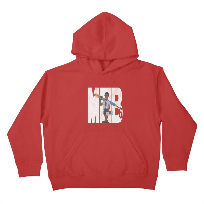 MIB6 Kids Pullover Hoody by The Last Tsunami's Artist Shop
