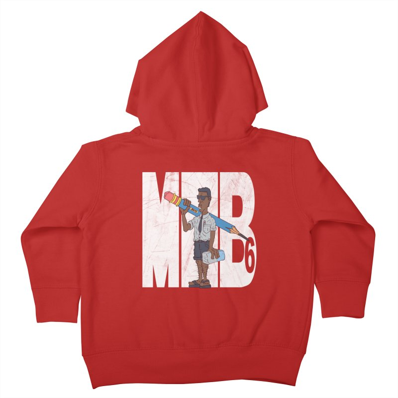 MIB6 Kids Toddler Zip-Up Hoody by The Last Tsunami's Artist Shop