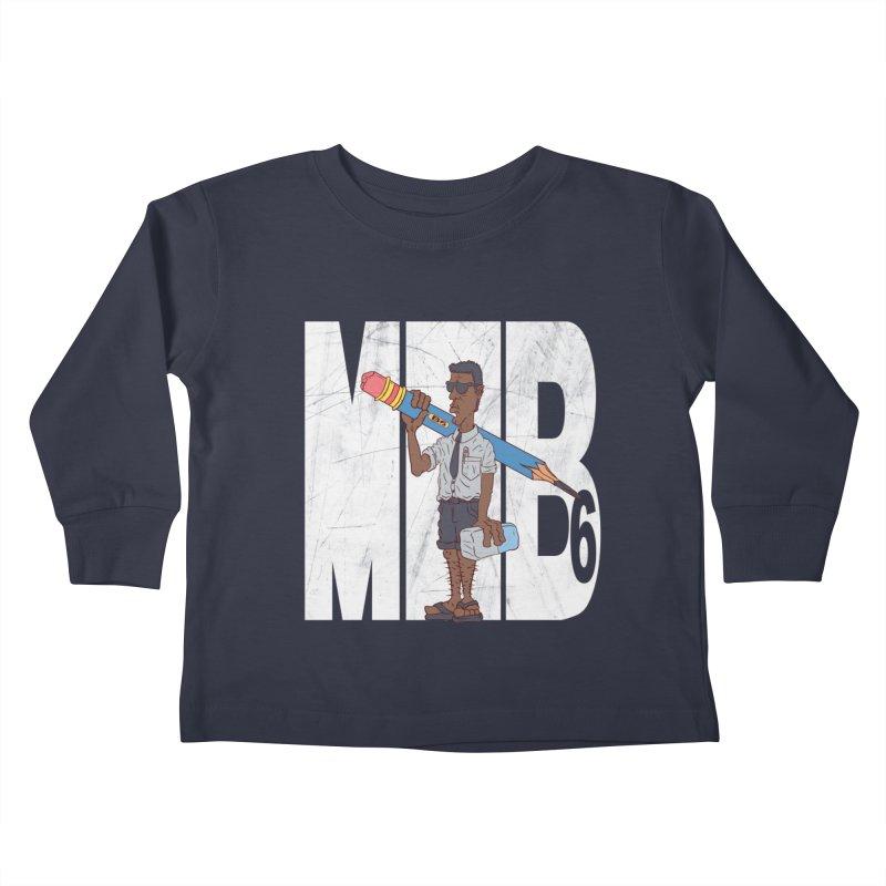 MIB6 Kids Toddler Longsleeve T-Shirt by The Last Tsunami's Artist Shop