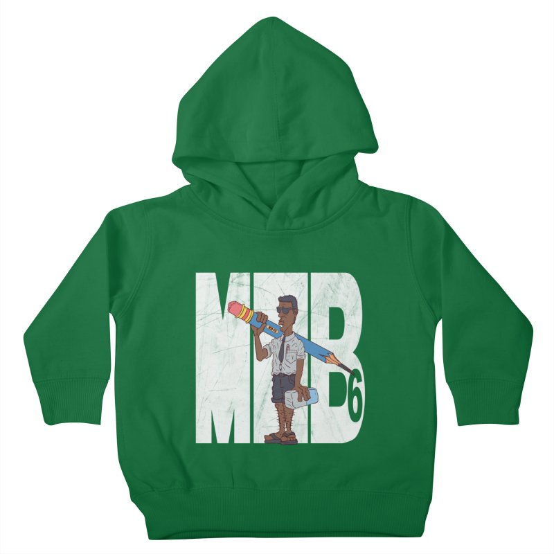 MIB6 Kids Toddler Pullover Hoody by The Last Tsunami's Artist Shop