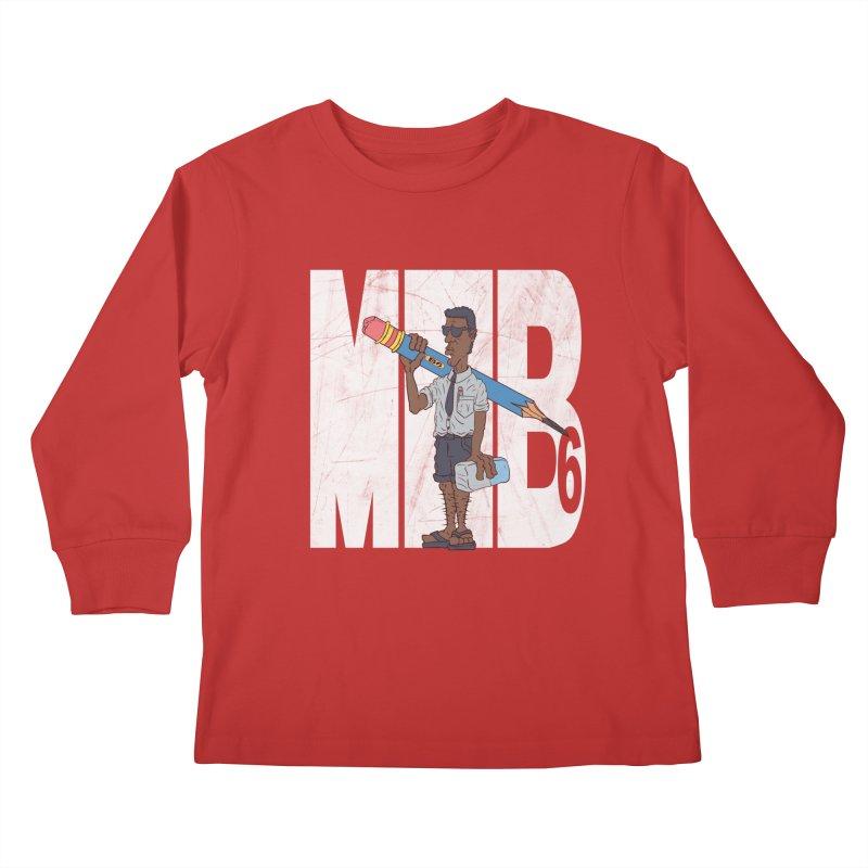 MIB6 Kids Longsleeve T-Shirt by The Last Tsunami's Artist Shop