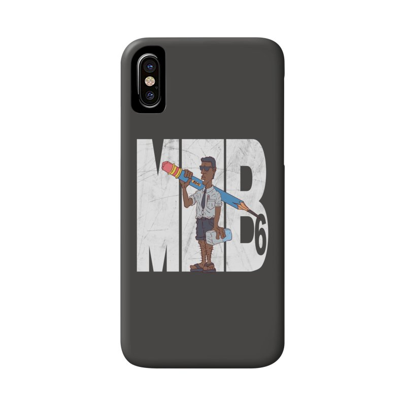 MIB6 Accessories Phone Case by The Last Tsunami's Artist Shop