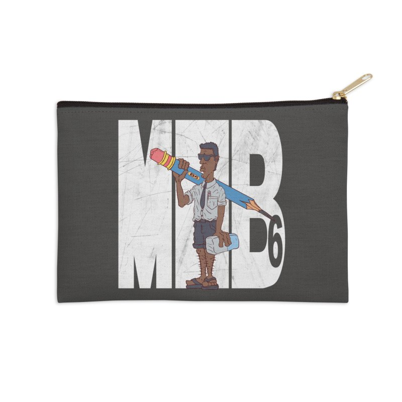 MIB6 Accessories Zip Pouch by The Last Tsunami's Artist Shop