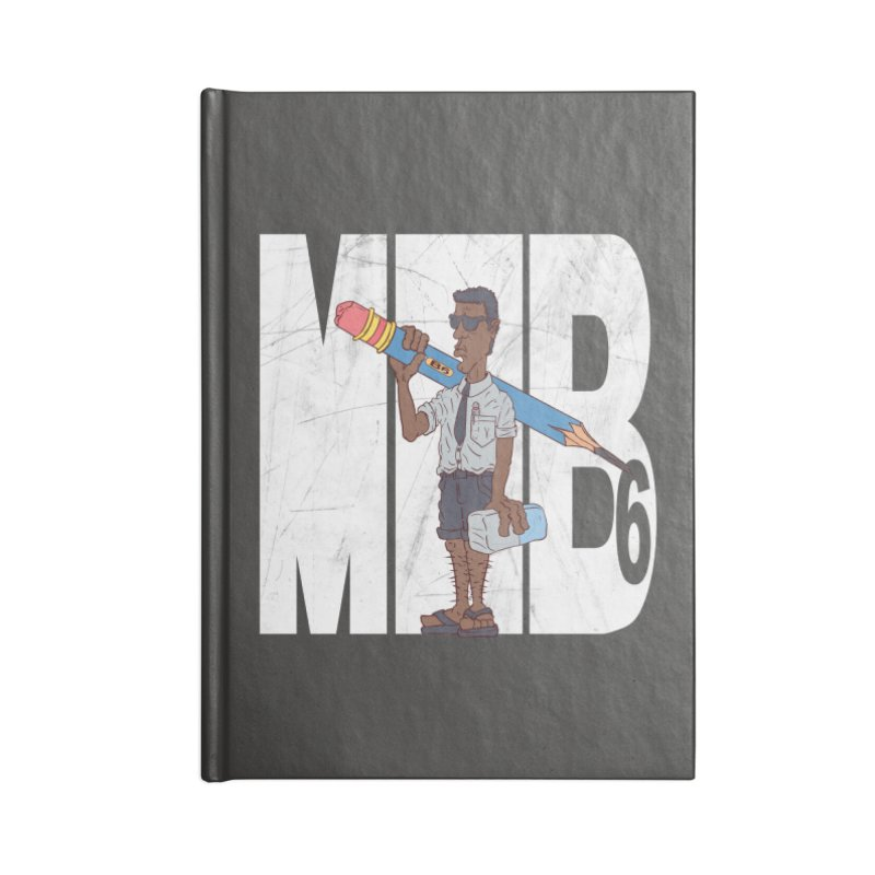 MIB6 Accessories Blank Journal Notebook by The Last Tsunami's Artist Shop
