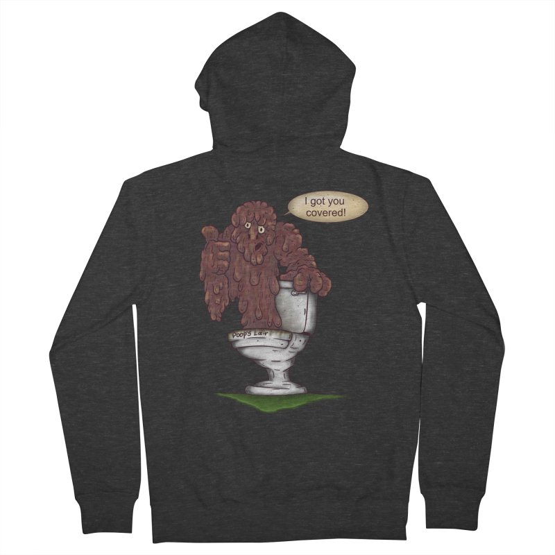 I got you covered! Women's Zip-Up Hoody by The Last Tsunami's Artist Shop