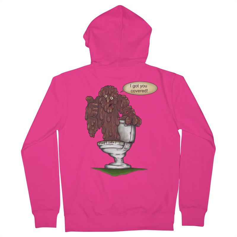 I got you covered! Men's Zip-Up Hoody by The Last Tsunami's Artist Shop
