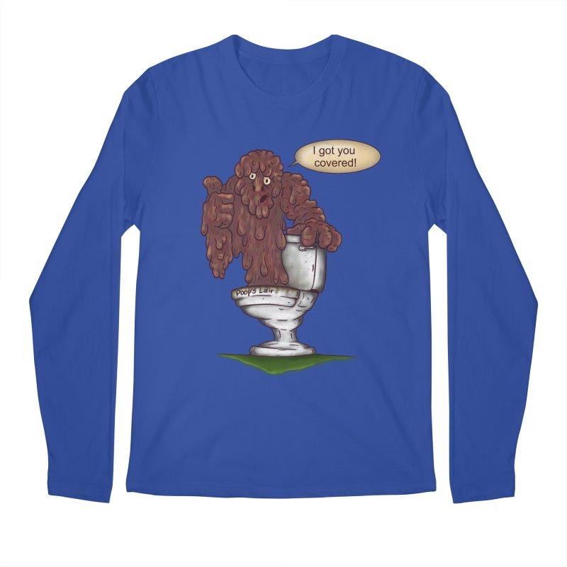 I got you covered! Men's Longsleeve T-Shirt by The Last Tsunami's Artist Shop