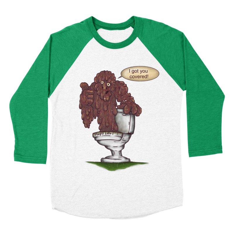 I got you covered! Women's Baseball Triblend T-Shirt by The Last Tsunami's Artist Shop