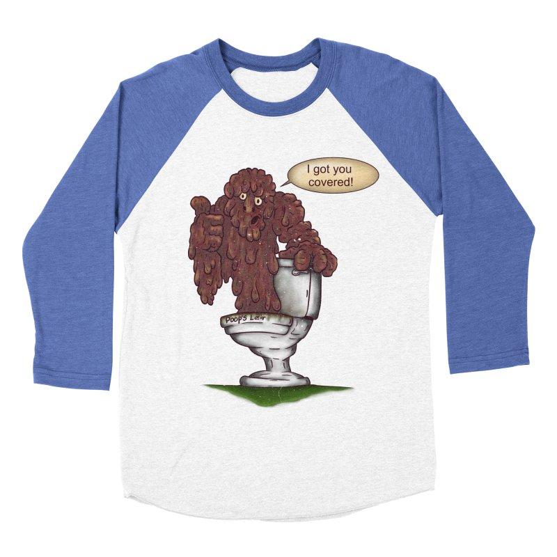 I got you covered! Men's Baseball Triblend T-Shirt by The Last Tsunami's Artist Shop