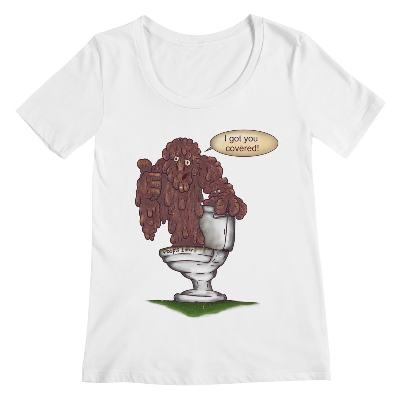 I got you covered! Women's Scoopneck by The Last Tsunami's Artist Shop