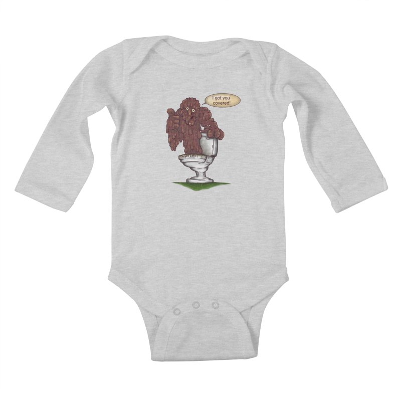 I got you covered! Kids Baby Longsleeve Bodysuit by The Last Tsunami's Artist Shop