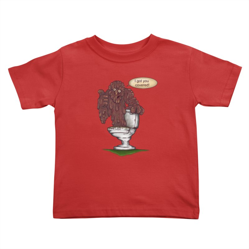 I got you covered! Kids Toddler T-Shirt by The Last Tsunami's Artist Shop