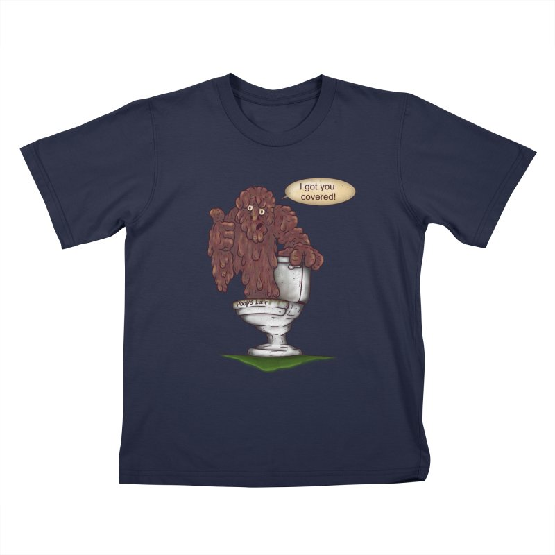 I got you covered! Kids T-shirt by The Last Tsunami's Artist Shop
