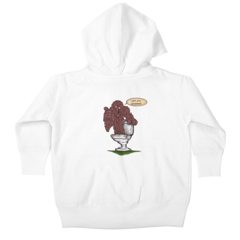 I got you covered! Kids Baby Zip-Up Hoody by The Last Tsunami's Artist Shop